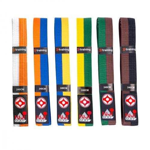 Cinturón Kyokushin Bicolor