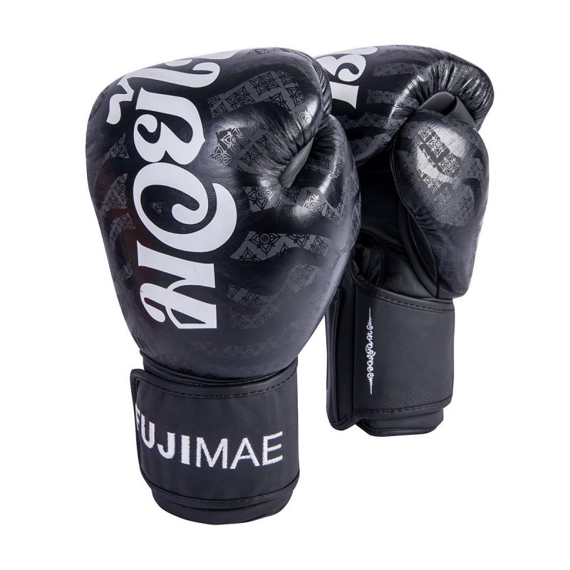 SakYant Leather Boxing Gloves