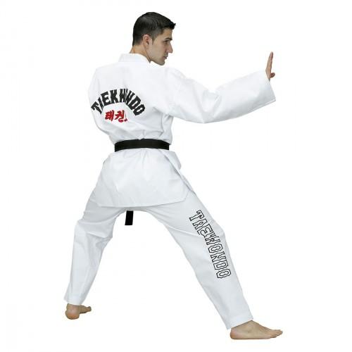 Master WT Dobok. White Collar
