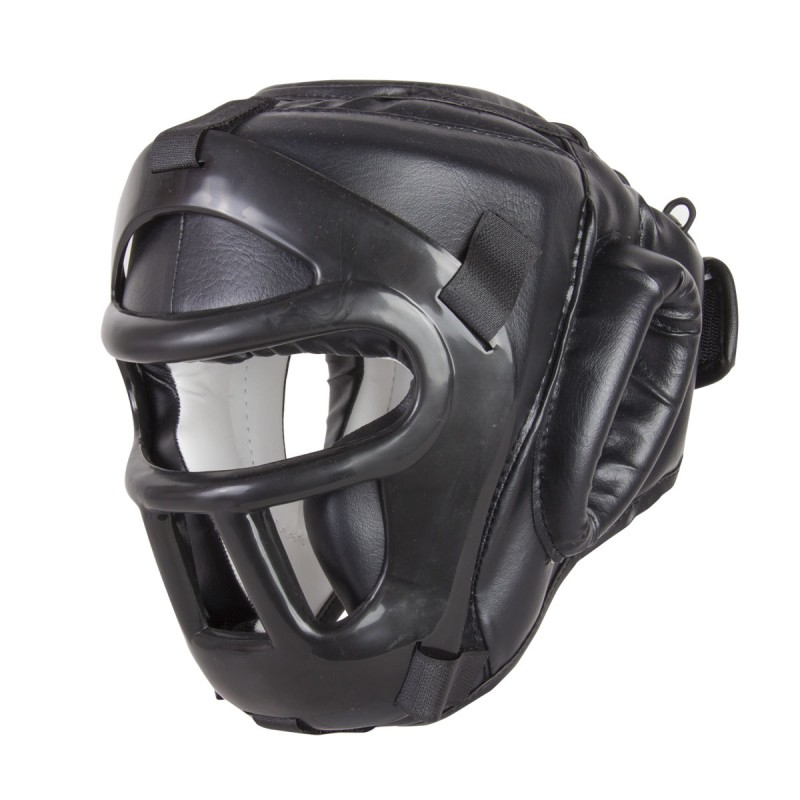Casco Black Night Proteccion Superior