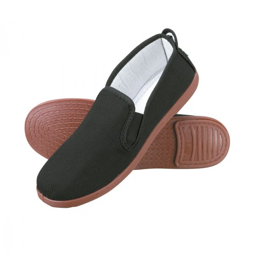 Kung Fu / Tai Chi Slippers. Black