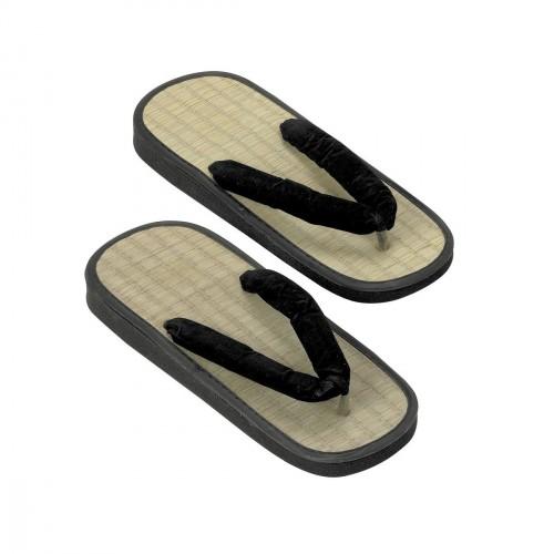 Rice-Straw Y Zori Sandals