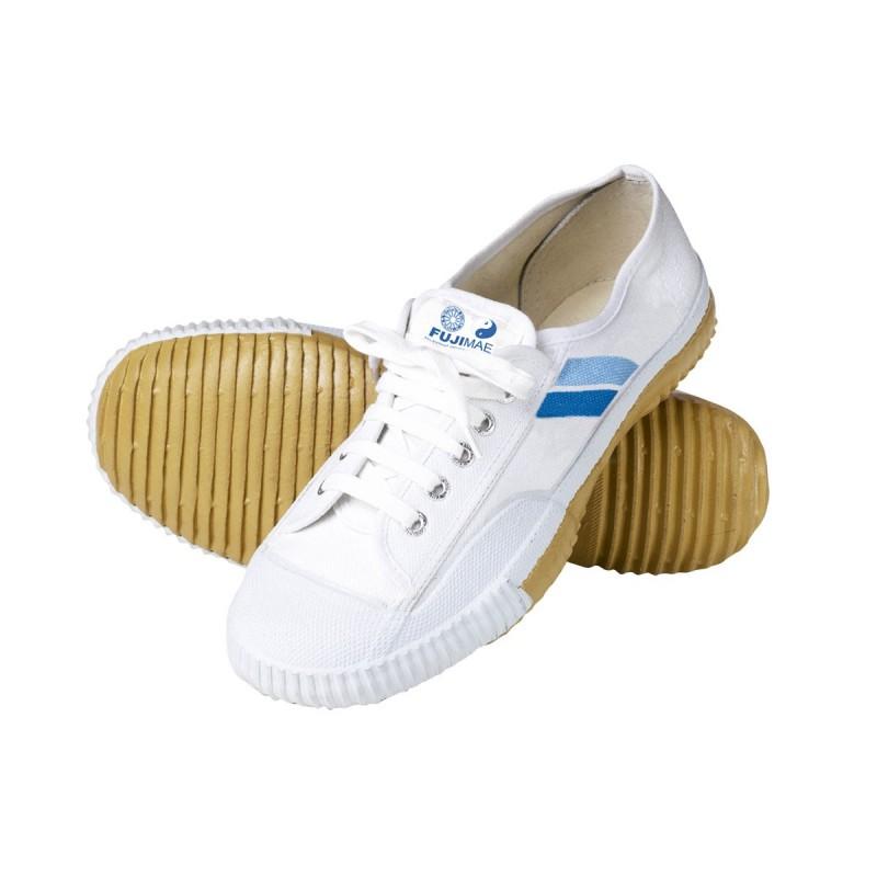 Chaussures Wu Shu. Blanc