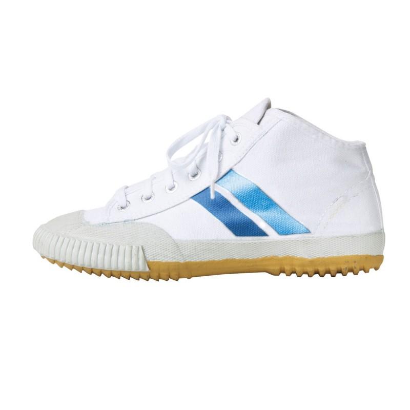 Zapatillas Wu Shu Hi-Top. Blanco