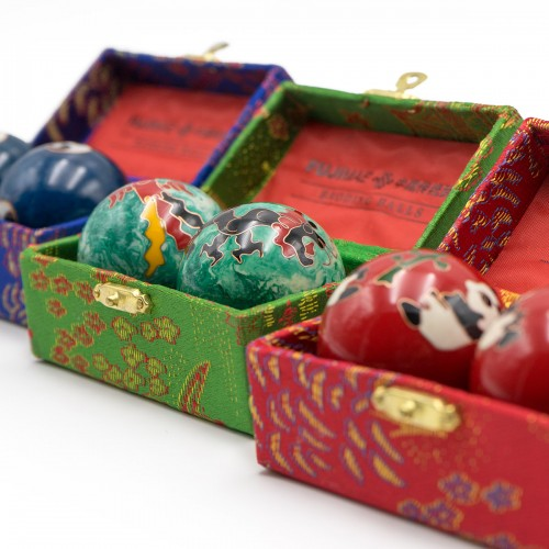 Cloisonné Baoding Balls