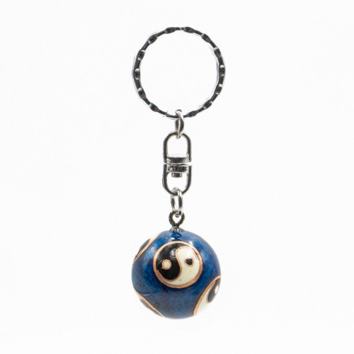 Baoding Ball Key Ring