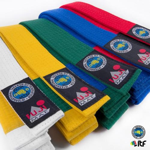 Cinturon ITF Bicolor