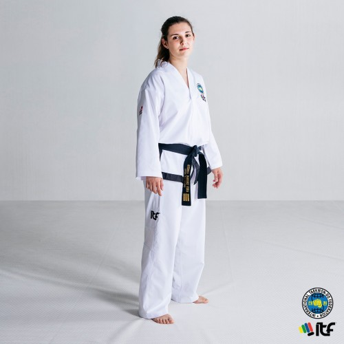 Dobok ITF Approved ProWear Black Belt