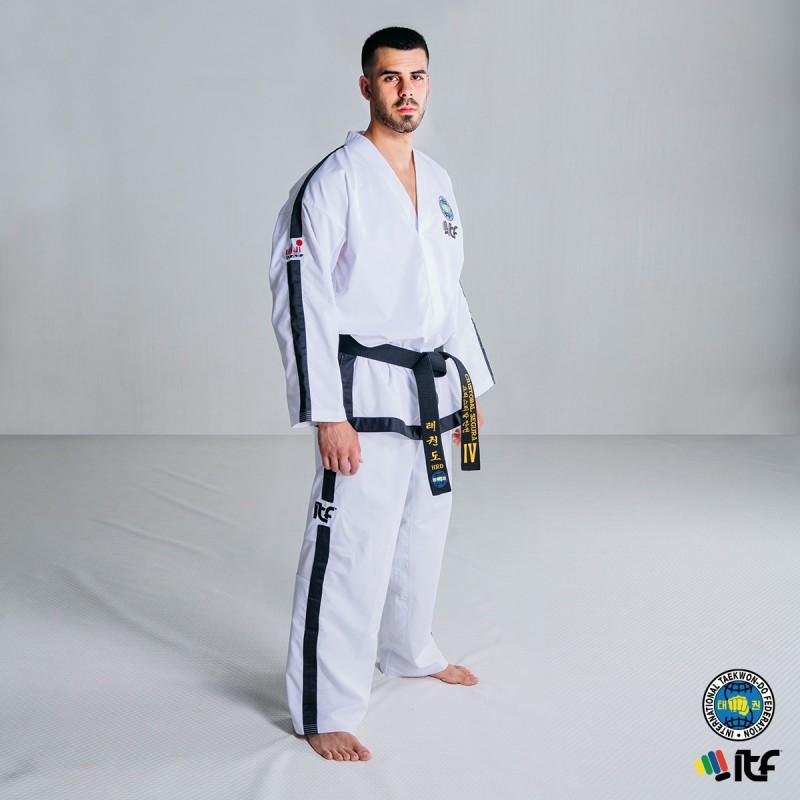 Dobok ITF Approved ProWear Black Belt