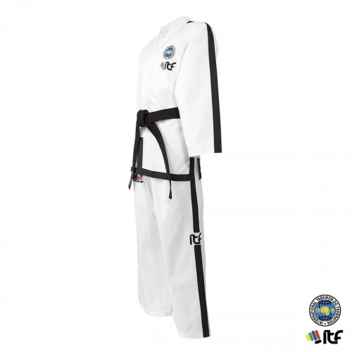 Dobok ITF. Instructeur. Ribbed. Approved