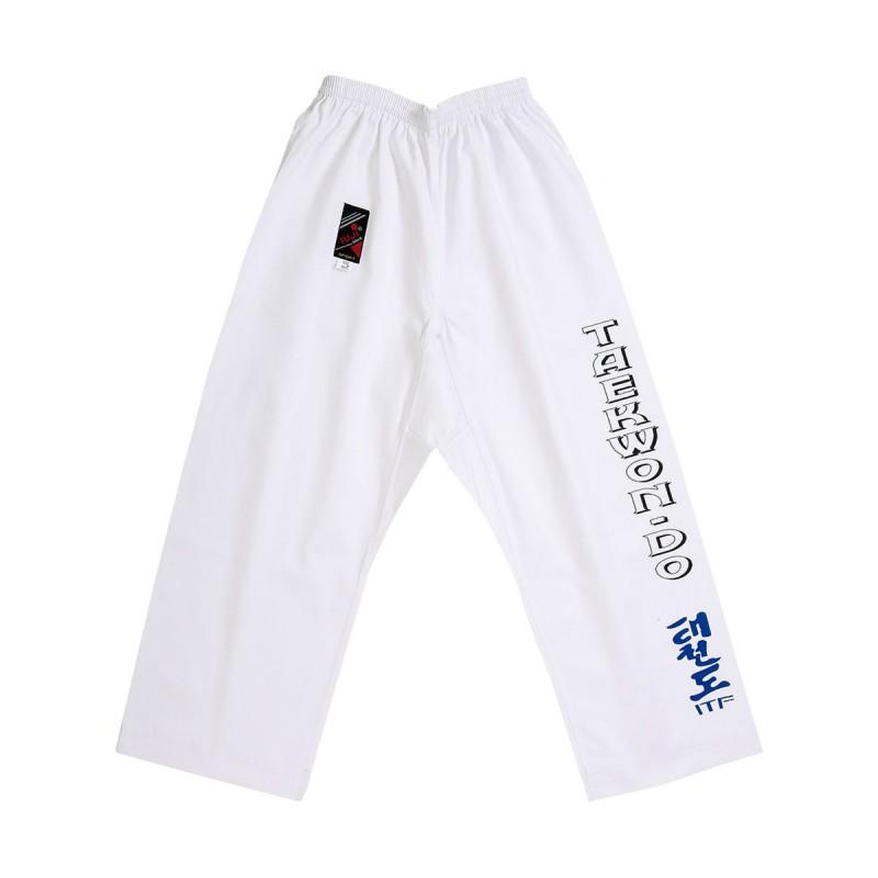 Pantalon ITF. Blanco.