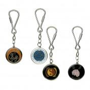 Metal Round Key Ring