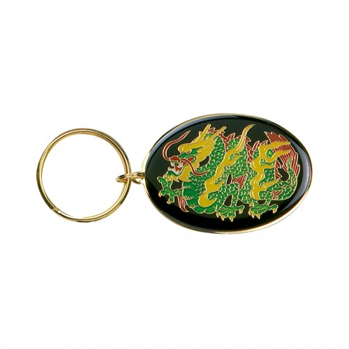 Metal Oval Key Ring