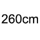 260cm