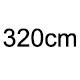 320cm