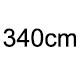 340cm