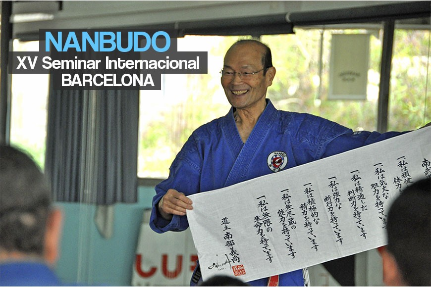 XV SEMINAR INTERNATIONAL NANBUDO EN BARCELONA