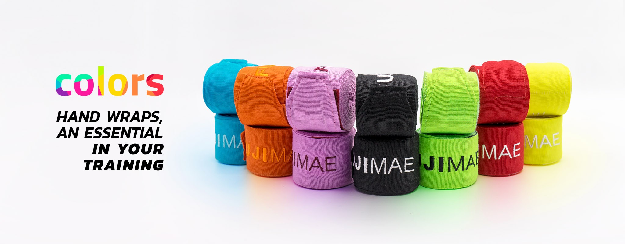 Colors Boxing Hand Wraps
