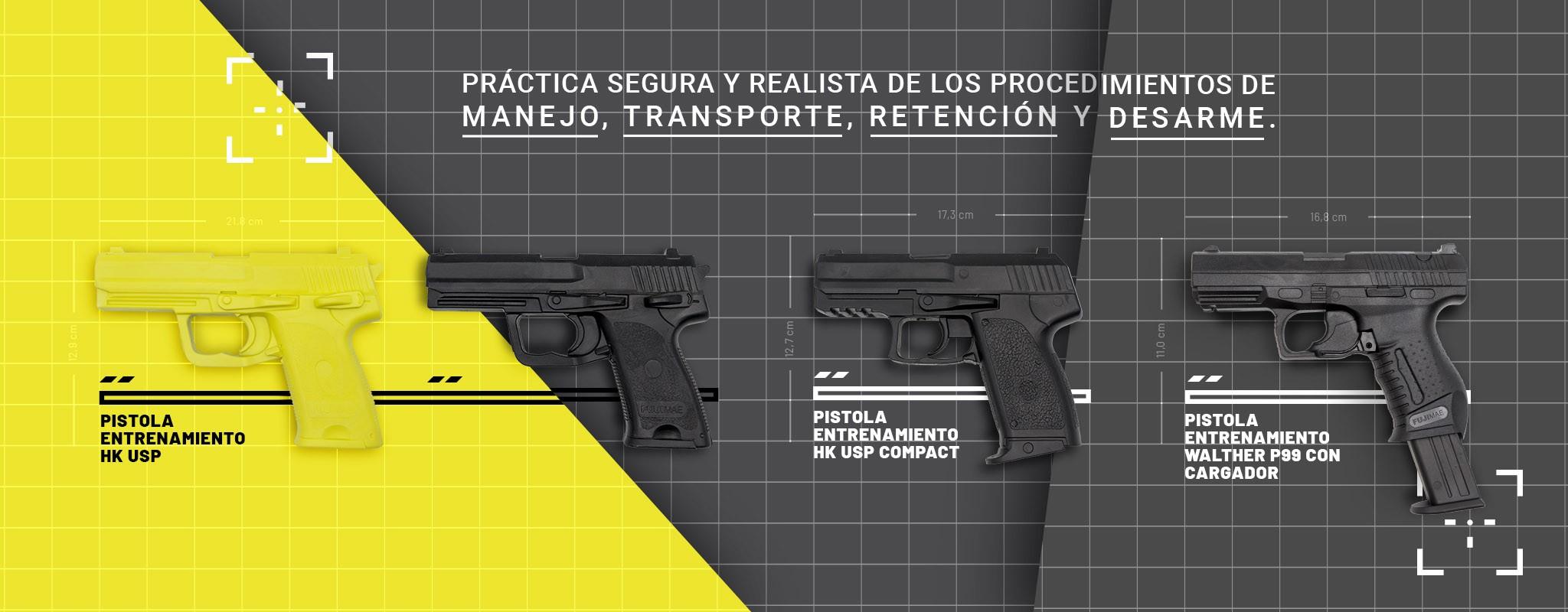 Pistolas TPR