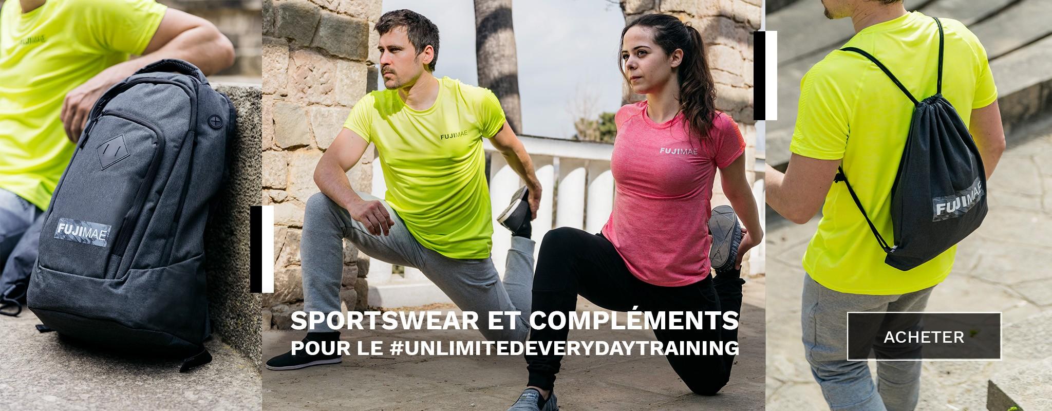 Sportswear et compléments